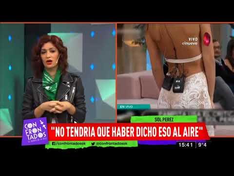 Download Sol Pérez se cruzó fuerte con Pampita