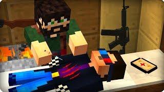 Меня укусил зомби [ЧАСТЬ 12] Зомби апокалипсис в майнкрафт! - (Minecraft - Сериал)