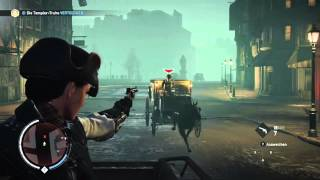 Assassins Creed Syndicate - The Chase , Horse down ,Kill Horse with gun , gameplay (xbox one)