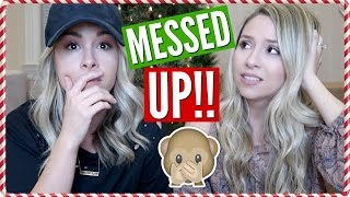 Someone's BREAKING in?? + We MESSED Up! | Vlogmas Day 11