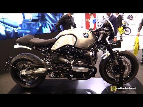 2015 BMW R Nine T by Rizoma - Walkaround - 2014 EICMA Milan Motorcycle Exhibition