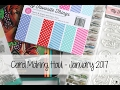 Card Making Haul - Jan 2017 | The Card Grotto