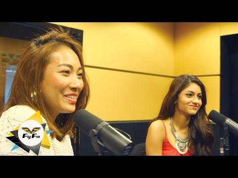 Miss Malaysia Universe Vanessa Tevi & Kiran Jassal Whisper Challenge #FlyWolfpack