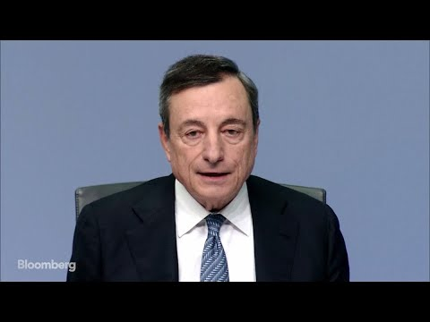 ECB's Draghi Says Balance of Risks Hasn't Changed: Full Briefing