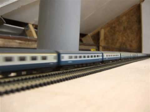 N Gauge Model Railway In Loft