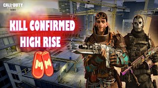 COD Mobile | KILL  COFIRMED - HIGHRISE | 40 KiLLS ALONE - 5715 POINT | INTENSE MATCH IN THE WORLD |