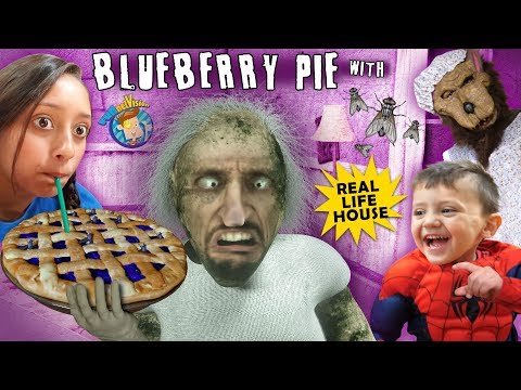 Granny Blueberry Pie got Flies yo