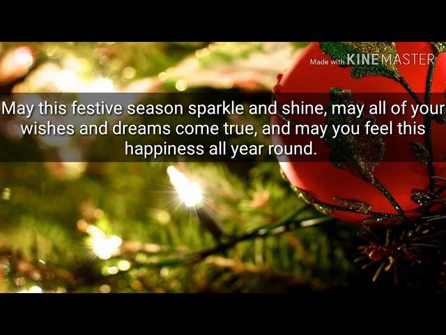 Download WhatsApp Merry Christmas Wishes Status Video