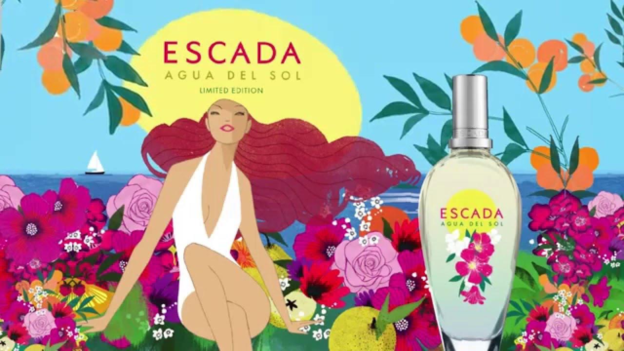 Escada Parfum Agua Del Sol Youtube