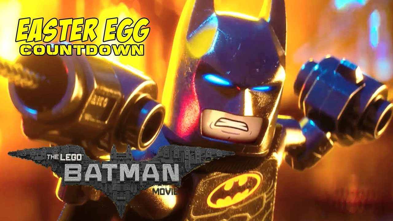THE LEGO BATMAN MOVIE - Easter Egg Countdown - YouTube