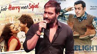 Ajay Devgn Reaction On Jab Harry Met Sejal & Tubelight FLOP At Box Office