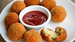 Chicken cheese balls - Foodvedam