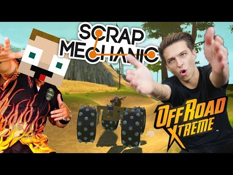EXTRÉMNÍ OFF ROAD ZÁVOD | Scrap Mechanic w/ Gejmr