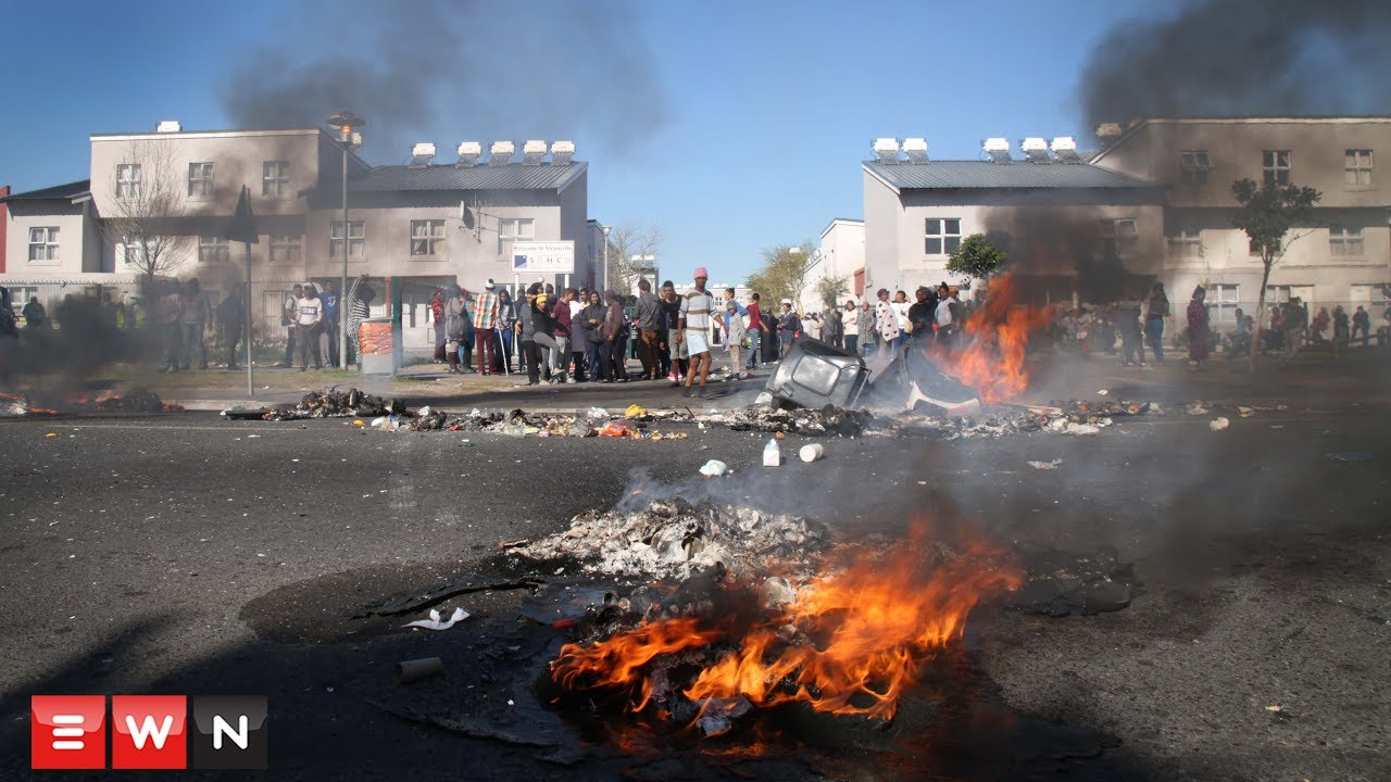 Steen Villa residents protest against evictions