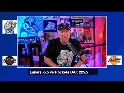 Los Angeles Lakers  vs Houston Rockets 9/4/20 Free NBA Pick and Prediction NBA Betting Tips