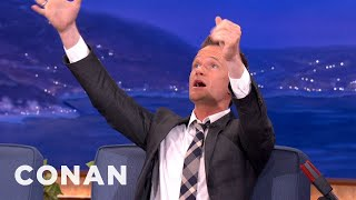 Neil Patrick Harris Is A Proud Poppa To Babblers  - CONAN on TBS