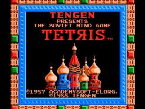 Tetris Tengen NES