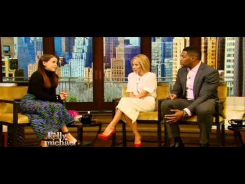 'The Duff' star Mae Whitman on Live! with Kelly and Michael (Feb 19th, 2015)