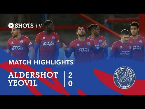 Aldershot Yeovil Goals And Highlights