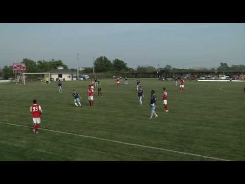 7/08/2016 - Ocean City Nor'easters vs Baltimore Bohemians (Wide Shot)
