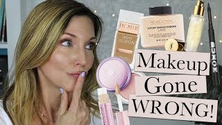 Makeup Gone Wrong ~ Full Face of (Mostly) Epic Fails!