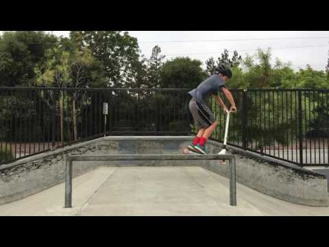 Scooter Jump Burgess Park Menlo Park California