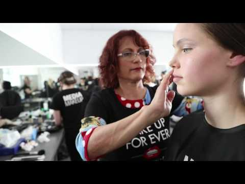 A Night Of Fashion At The Art Gallery 2016: Hair & Make-up Behind The Scenes