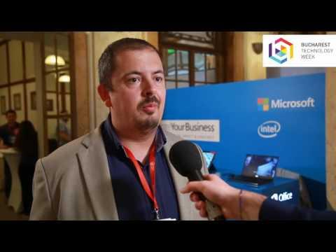 Interview: Tudor Galos, Microsoft @ Enterprise-IT Summit – Bucharest Technology Week 2016
