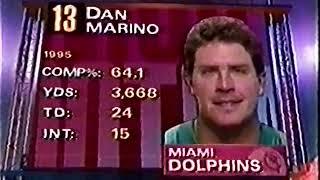 1995 Wild Card Dolphins @ Bills