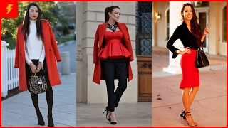 How to Wear Red Outfit for This Valentine's