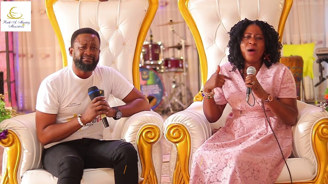 YOU WILL SURELY LOVE THIS  MESSAGE FROM JOYCE ABOAGYE AND APOSTLE DADDY ASIAMAHH