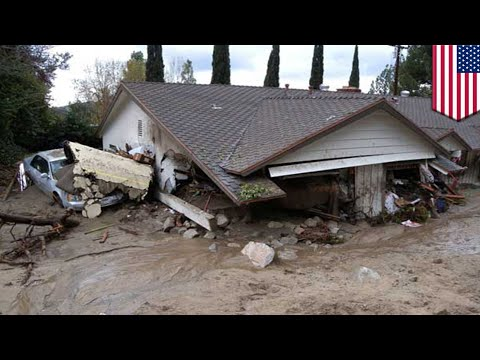 Deadly Mudslide: After Wildfires, Catastrophic Debris Flow Devastates California - TomoNews