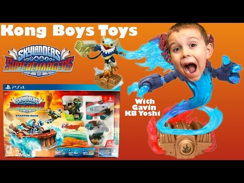 ps4-skylanders-superchargers-starter-pack-close-up-unboxing-with-special-effects!