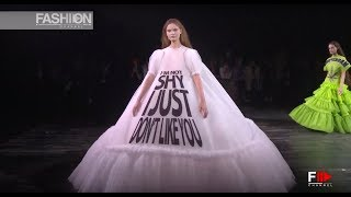 VICTOR&ROLF Haute Couture Spring Summer 2019 Paris - Fashion Channel