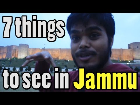 Kashmir Travel Video Diary Part 1 - Jammu Exploration (7 things to see in Jammu, India)