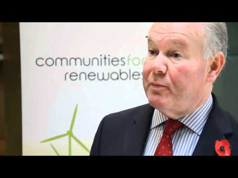 Charles Hendry talks about Community Renewables