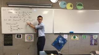 Proving Harder Binomial Identities (1 of 3: Deciphering identity to assist with proving)