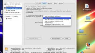 How to format hard drives in mac os x