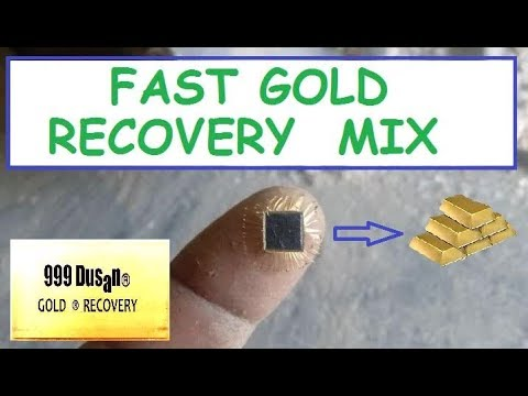 Fast Gold Recovery Mix!