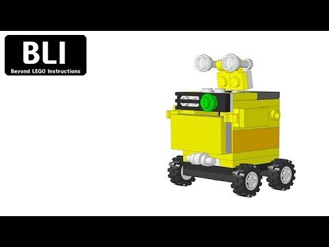 Lego Mini Wall E Blilego Youtube