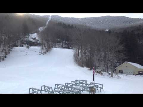 Mad River Glen Video Snow report 1 21 2014