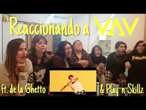 VAV - 'Give Me More' (Feat. De La Ghetto & Play-N-Skillz) [MV REACTION] By Putifandom Spanish