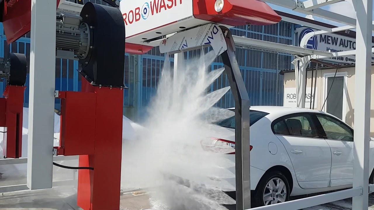 Otomatik Fırçasız çamurlu araç Yıkama ( Touchless Car Wash Machine )