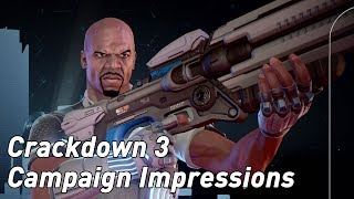 Crackdown 3 campaign impressions & gameplay (4K, PC, 60fps)