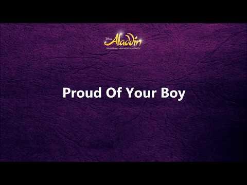 Aladdin - Proud of Your Boy (Instrumental+Lyrics)