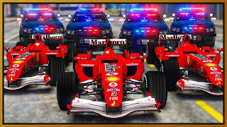 GTA 5 Roleplay - TROLLING COPS IN F1 RACE CARS | RedlineRP