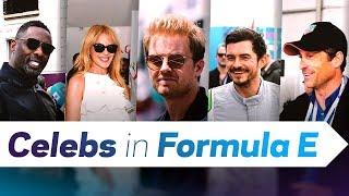 Motorsport Legends To Hollywood Stars | Celebrities Enjoying Formula E