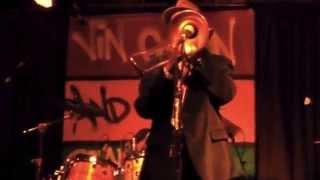 Vin Gordon +RR band @Nells Fulham song1 3.10.2015