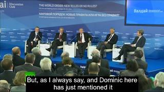 Putin: Who created ISIS? thumbnail