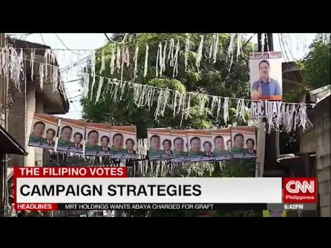 Campaign strategies in the Philippines?